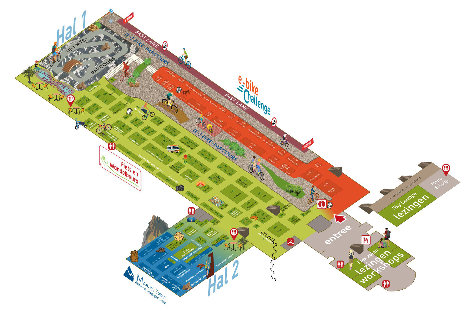 plattegrond Hicle Events Gent 2020